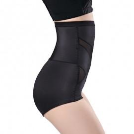 Sexy Women Body Shaper High Waist Hip Lifter Tummy Control Corset Underwear Slimming Pant Thong Black/Beige